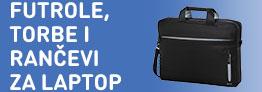 Futrole, torbe i rančevi za laptop