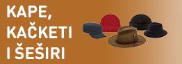 Kape, kačketi i šeširi
