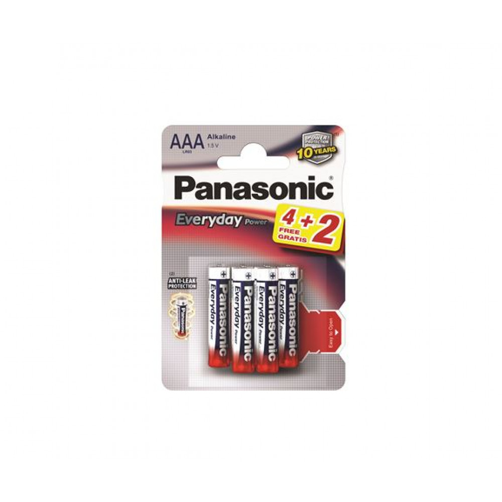 PANASONIC baterije LR03EPS/6BP -AAA 6kom alkaline Everyday Power