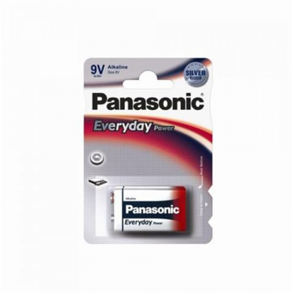 PANASONIC baterija 6LR61EPS/1BP -9V alkalne Everyday