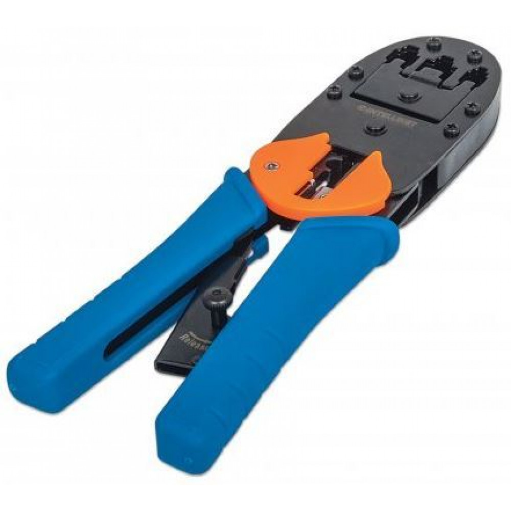 LAN Crimping tool, modular plug, RJ45/RJ11/RJ12
