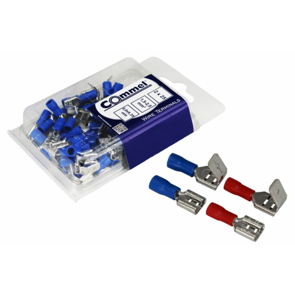 COMMEL ugaoni utikač+natikač za žicu C365-841