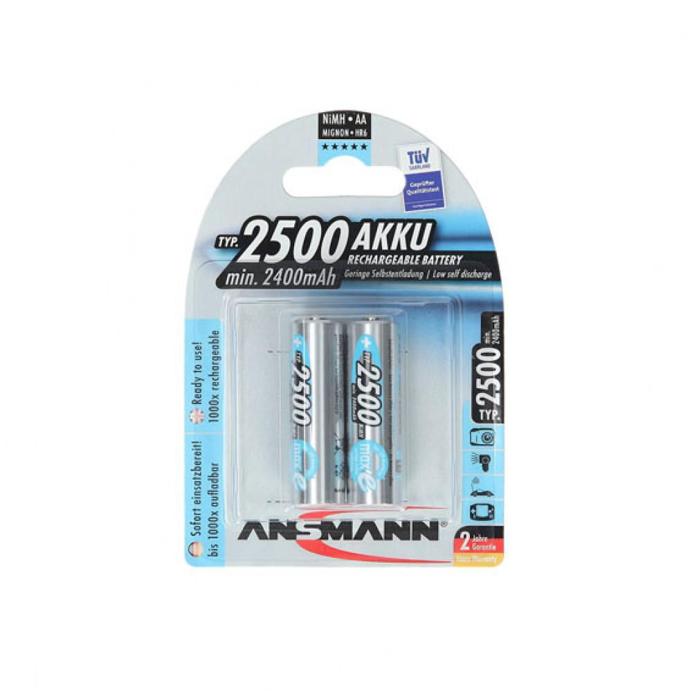 ANSMANN punjiva baterija HR06 2500mAh 2/1