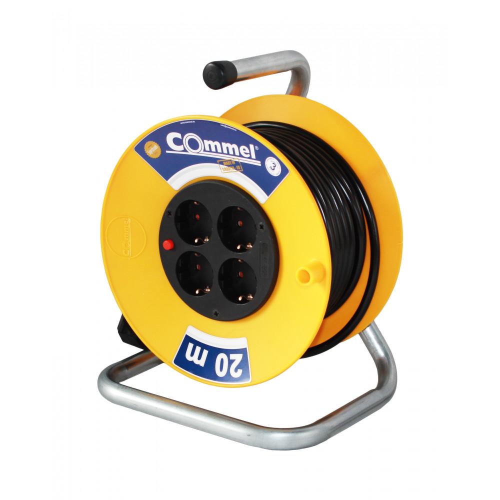 COMMEL kabl sa motalicom PVC bubanj 280mm monofazna 50m (C0956)