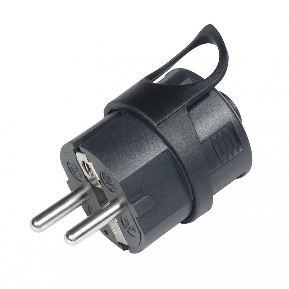 COMMEL utikač sa kontaktom za uzemljenje C290-102