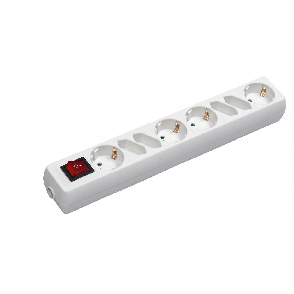 COMMEL produžni kabl 8 utičnica 4x2,5A + 4x16A sklopka C0843
