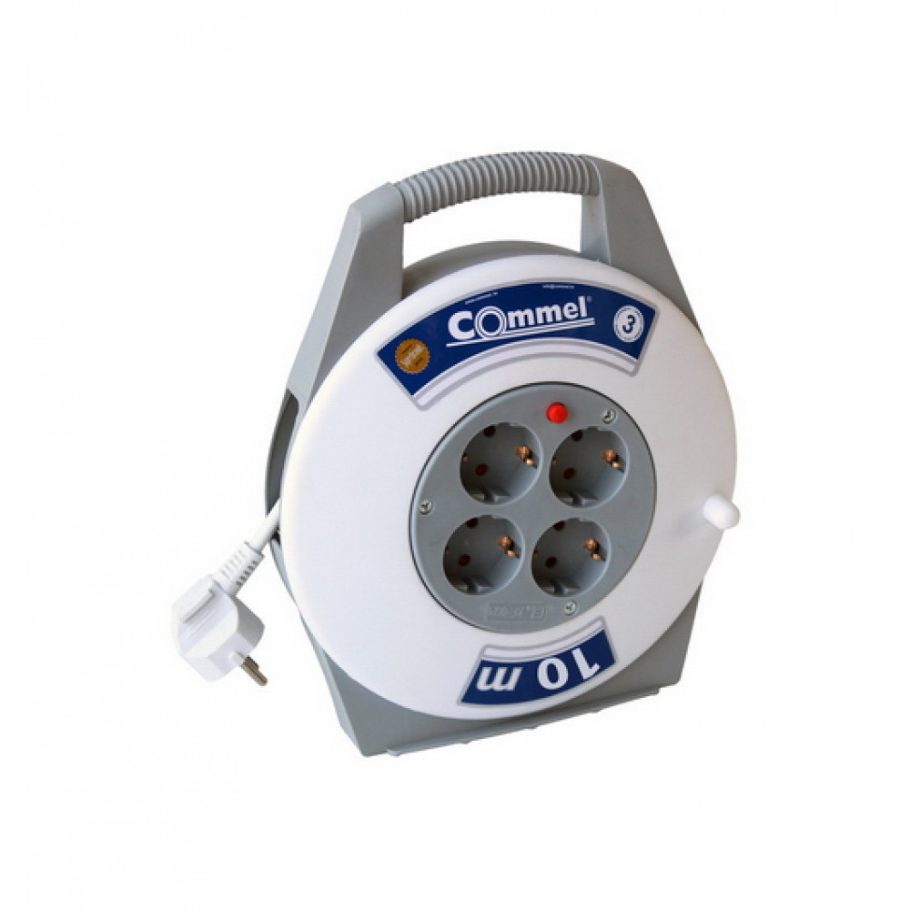 COMMEL kabl-box 16A 250V 3500W IP20 10m C0890