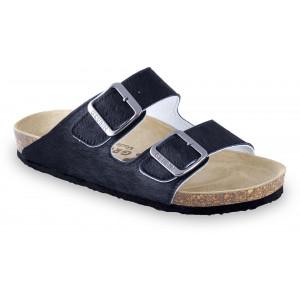 GRUBIN ženske papuče 0033590 ARIZONA Crna