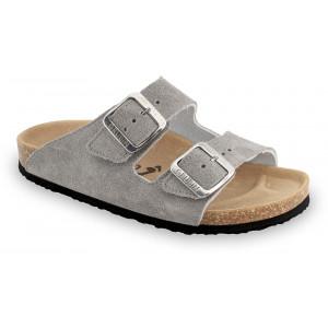 GRUBIN ženske papuče 0033510 ARIZONA Sive