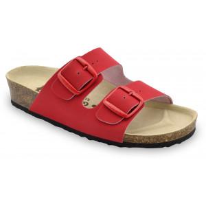 GRUBIN ženske papuče 0033550 ARIZONA Crvene
