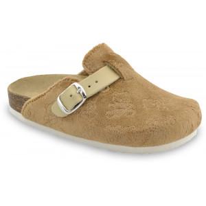 GRUBIN dečije papuče 0053060 RIM Braon