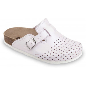 GRUBIN dečije papuče 0053090 RIM Bele
