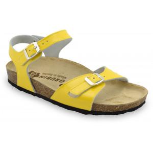 GRUBIN ženske papuče 0113670 RIO Žuta