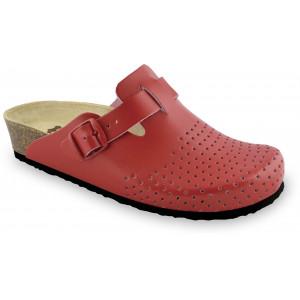 GRUBIN ženske papuče 0133560 BEOGRAD Crvene