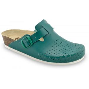 GRUBIN ženske papuče 0133560 BEOGRAD Zelene
