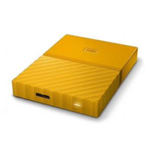 WESTERN DIGITAL eksterni hard disk My Passport Yellow 3TB