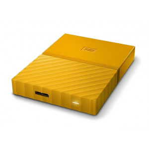 WESTERN DIGITAL eksterni hard disk My Passport yellow 1TB