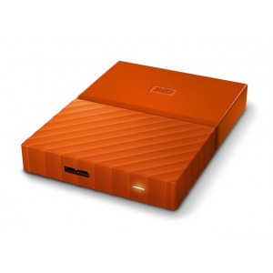 WD Externi Tvrdi Disk My Passport Orange