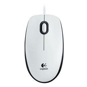 LOGITECH miš M100 white