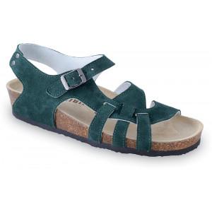 GRUBIN ženske sandale 0203510 PISA Zelena