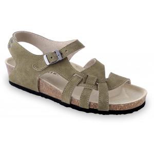 GRUBIN ženske sandale 0203510 PISA Maslinasto zelena