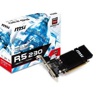 MSI VGA PCIe R5230-1GD3H LP