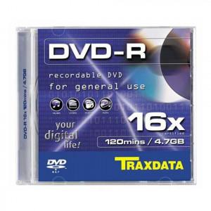 TRAXDATA MED DVD disk DVD-R 4.7GB BOX-1
