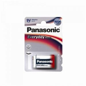 PANASONIC baterija 6LR61EPS/1BP -9V alkalne Everyday