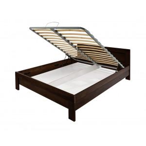 MATIS krevet MASIV Box 160x200 - WENGE 344306