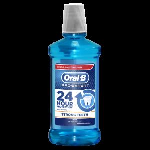 ORAL B tečnost za ispiranje usta rinse 500 ML pro exp strong teeth