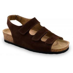 GRUBIN ženske sandale 0313510 MEDINA Braon
