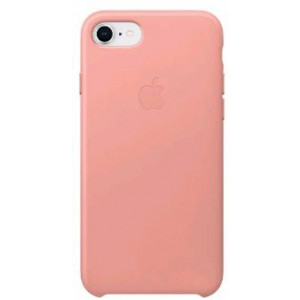APPLE iPhone 8/7 Leather Case - Soft Pink MRG62ZM/A