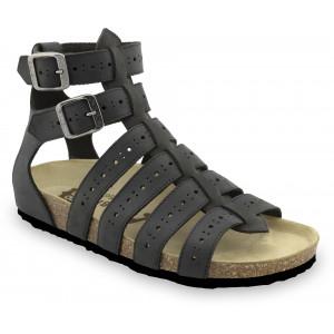 GRUBIN ženske sandale 0343510 ATINA Crna