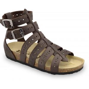 GRUBIN ženske sandale 0343510 ATINA Braon