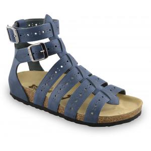 GRUBIN ženske sandale 0343510 ATINA Teget