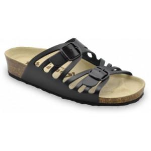 GRUBIN ženske papuče 0353550 DERBY Crne
