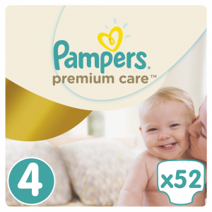 PAMPERS PREMIUM VP 4 MAXI (52)