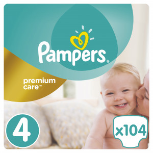 PAMPERS PREMIUM MB 4 MAXI (104) 4015400465447 ***N