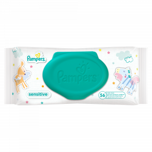 PAMPERS WIPES 56 SENSITIVE