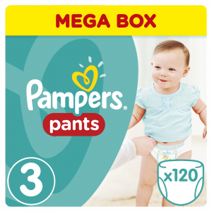 Pampers Pants MB 3 Midi (120) 4295