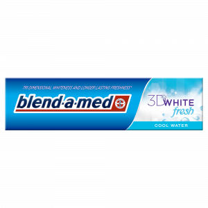 ORAL B pasta za zube 100 ML 3D white fresh cool water Blend-a-med
