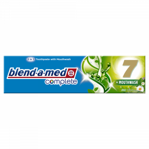 ORAL B pasta za zube  100 ML complete 7 mounwash herbal Blend-a-med