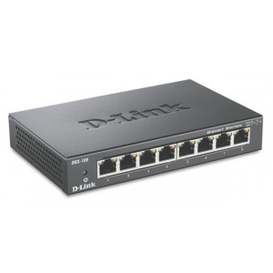 D-LINK Switch 8-portni gigabitni DGS-108/E metalno kućište