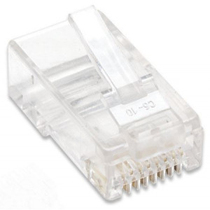 INTELLINET LAN konektor RJ45 Cat.5e UTP 100 komada