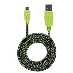 MH kabl USB 2.0 Tip-A Muški/Micro-B Muški Crno/Zeleni