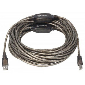 MH kabl USB 2.0 Aktivni Tip A Muški/Tip B Muški crni