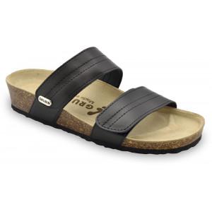 GRUBIN ženske papuče 0593650 MALTA Crna