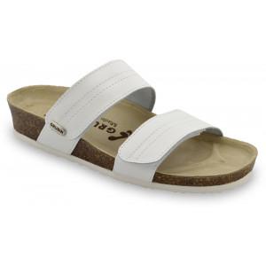 GRUBIN ženske papuče 0593650 MALTA Bela