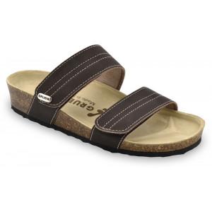 GRUBIN ženske papuče 0593650 MALTA Braon
