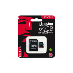 KINGSTON Memorijska kartica SD MICRO 64GB HC  +ad UHS-I U3